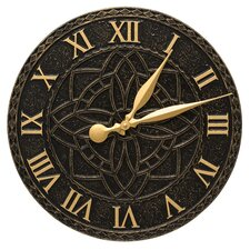 "16"" Artisan Indoor/Outdoor Wall Clock"