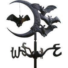 Halloween Bat Garden Weathervane