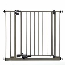 Slide-Step and Open Pet Gate