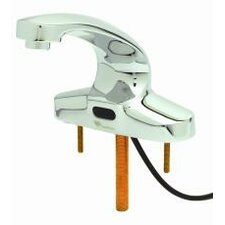 ChekPoint Centerset Sensor Faucet with 0.5 gpm  Vandal Resistant Outlet
