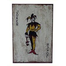 Wooden Joker Graphic Art