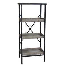 "Metal Storage 49"" Etagere Bookcase"
