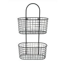 Metal Wall Hanging Storage Basket