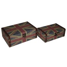 Union Jack Keepsake Box (Set of 2)