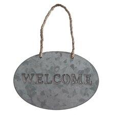 "Hanging Garden ""Welcome"" Sign (Set of 3)"
