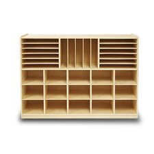 Art Station and File Organizer 32 Compartment Cubby