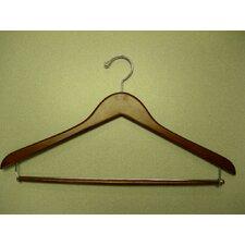 Genesis Flat Suit Hanger with Lock Bar (Set of 50)