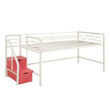 Junior Twin Loft Bed with Storage