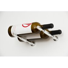 Vino Pin Series 2 Bottle Wall Mounted Wine Rack