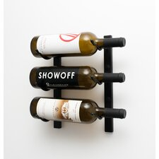 Wall Series 3 Bottle Wall Mounted Wine Rack