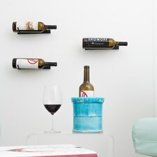 Vino Pin Series  1 Bottle Wall Mounted Wine Rack