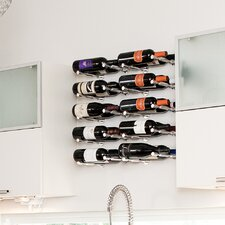 Vino Pin Series 1 Bottle Wall Mounted Wine Rack (Set of 2)