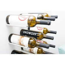 Vino Rails 1 Bottle Wall Mounted Wine Rack