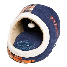 Diamond Stitched Active-Play Indoor Panoramic Designer Dog Bed