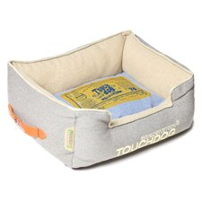Original Denim Classical Rectangular and Reversible Dog Bed
