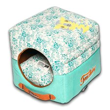 Floral Galore Reversible and Collapsible Dog Bed
