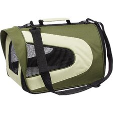 Zippered Sporty Mesh Pet Carrier