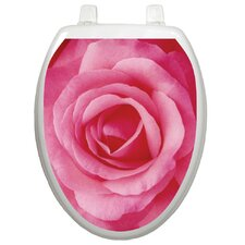 Themes Single Rose Toilet Seat Decal