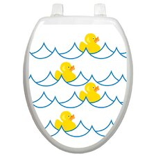 Youth Rubber Ducky Toilet Seat Decal