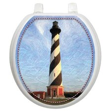 Themes Cape Hatteras Toilet Seat Decal