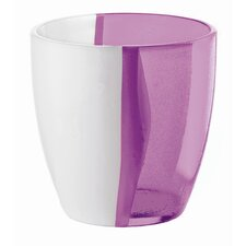 Happy Hour Two Toned Water Glass in Violet (Set of 6)