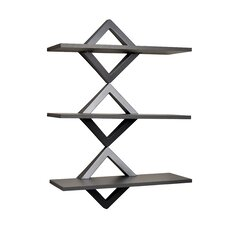 Diamonds 3 Level Wall Shelf