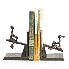 See Saw Metal Bookend (Set of 2)