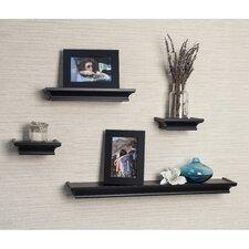 Cornice 4 Piece Floating Shelf Set