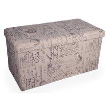 Upholstered Folding Storage Bench
