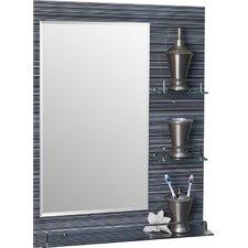 Milan Vanity Bathroom Mirror with Shelves