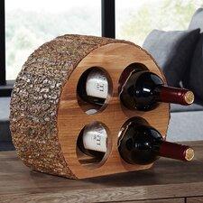Isthmus 4 Bottle Tabletop Wine Rack