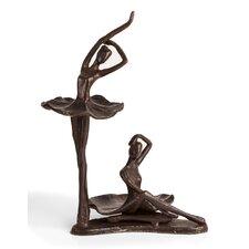Ballerina Duo Sculpture