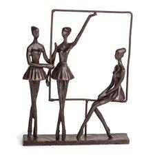 Ballerina on Frame Sculpture