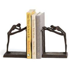 Ballerina Stretch Metal Book Ends
