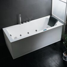 "Platinum 70"" x 25"" Whirlpool Bathtub"