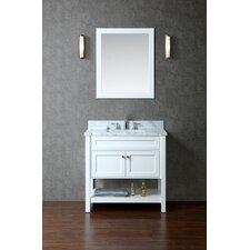 """Mayfield 36"""" Single-Sink Bathroom Vanity Set with Mirror"""