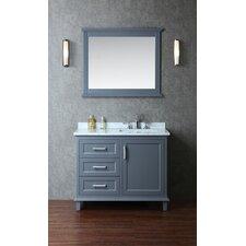 "Nantucket 42"" Single Bathroom Vanity Set with Mirror"