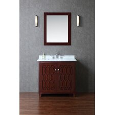 "Turnberry 36"" Single Bathroom Vanity Set with Mirror"