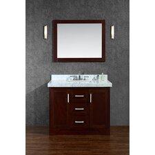 "Ashbury 42"" Single Bathroom Vanity Set with Mirror"