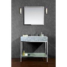 "Brightwater 36"" Single Bathroom Vanity Set with Mirror"