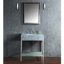 """Brightwater 30"""" Single-Sink Bathroom Vanity Set with Mirror"""