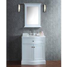 "Montauk 30"" Single-Sink Bathroom Vanity Set with Mirror"
