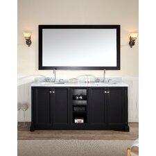"Westwood 73"" Double Sink Vanity Set with Mirror"