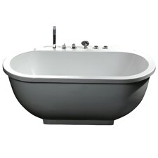 "71"" x 37"" Whirlpool Bathtub"