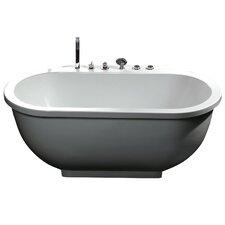 """71"""" x 37"""" Whirlpool Bathtub"""