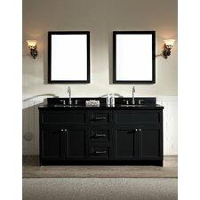 "Hamlet 73"" Double Bathroom Vanity Set with Mirror"