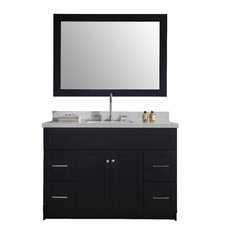 "Hamlet 49"" Single Bathroom Vanity Set with Mirror"