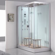 Platinum 6 kW Left Steam Shower