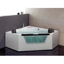 "59"" x 59"" Whirlpool Tub"