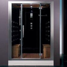 "Platinum 59"" x 32"" x 87.4"" Neo-Angle Door Steam Shower"